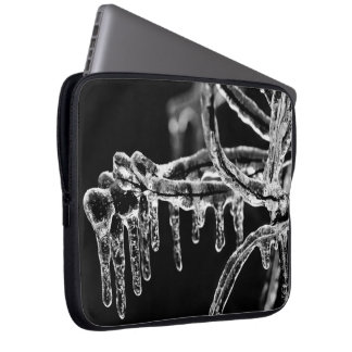 enter icy winter laptop sleeves