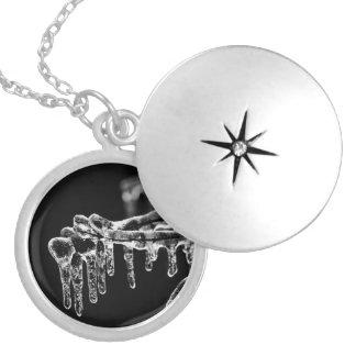 enter icy winter locket necklace