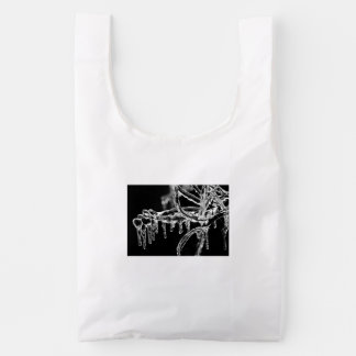 enter icy winter reusable bag