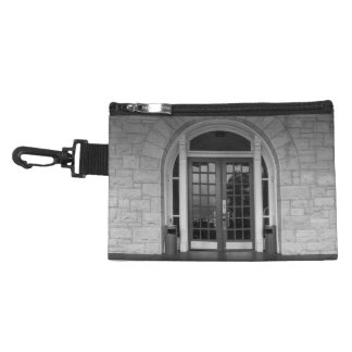 Enter If You Dare Grayscale Accessory Bags