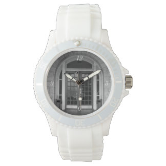 Enter If You Dare Grayscale Wrist Watch