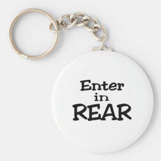 Enter In Rear Keychain