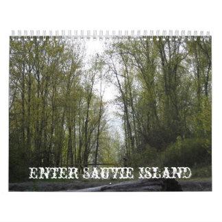 Enter Sauvie Island Calendar