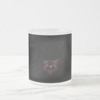 Enter The Dark 10 Oz Frosted Glass Coffee Mug