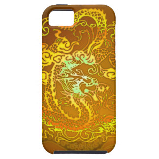 Enter the Dragon Emperor Yellow iPhone SE/5/5s Case