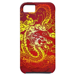 Enter the Dragon Fire Red iPhone SE/5/5s Case