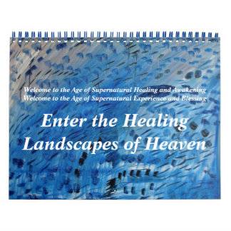 Enter the Healing Landscapes of Heaven Calendar