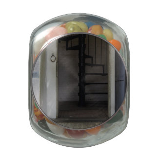 Enter the Light Glass Candy Jars