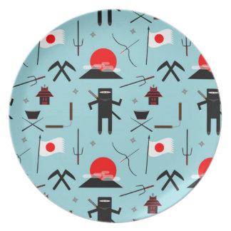 Enter the Ninja Plate