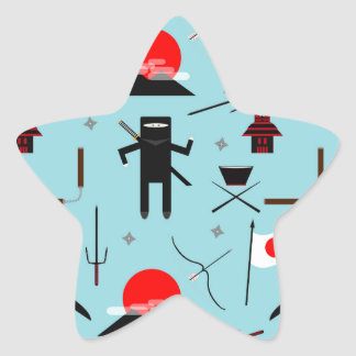 Enter the Ninja Star Sticker