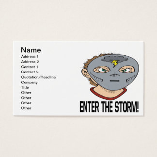 Enter The Storm Business Card