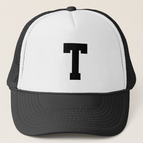 Enter your own textinitials Trucker Hat