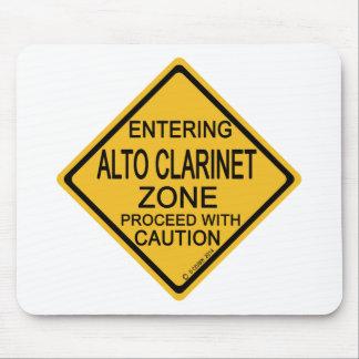 Entering Alto Clarinet Zone Mouse Pad
