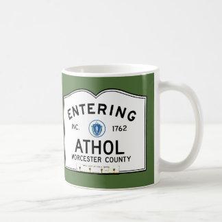 Entering Athol Coffee Mug