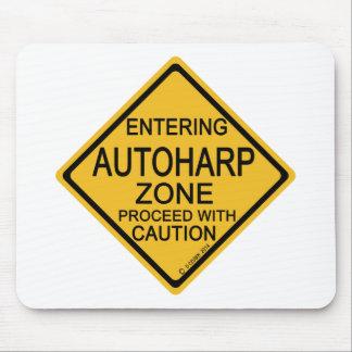 Entering Autoharp Zone Mouse Pad