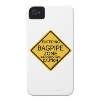 Entering Bagpipe Zone iPhone 4 Cover