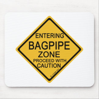 Entering Bagpipe Zone Mousepad