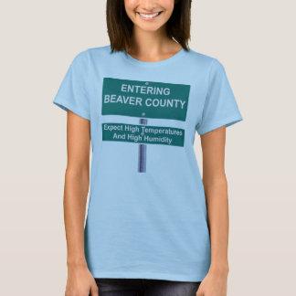 Entering Beaver County T-Shirt