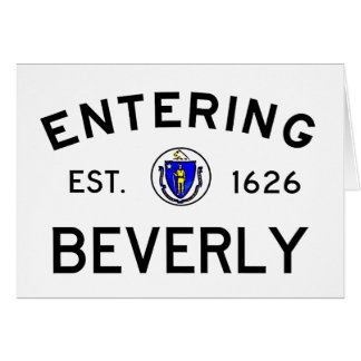 Entering Beverly Card