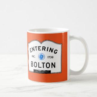 Entering Bolton Coffee Mug