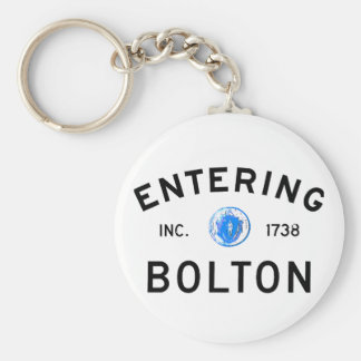Entering Bolton Key Chains