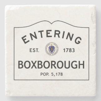 Entering Boxborough Marble Coaster Stone Coaster