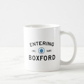 Entering Boxford Coffee Mug