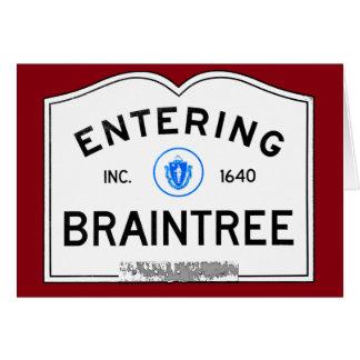 Entering Braintree Card
