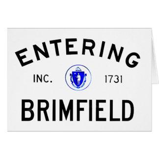 Entering Brimfield Card