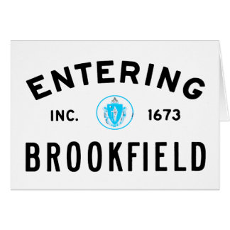 Entering Brookfield Card
