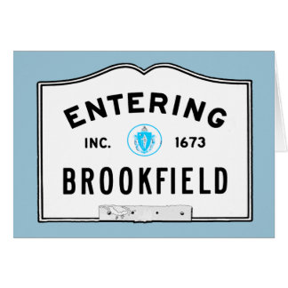 Entering Brookfield Card