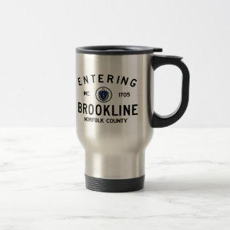 Entering Brookline Travel Mug