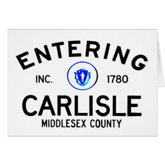Entering Carlisle Card
