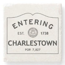 Entering Charlestown Marble Coaster Stone Coaster