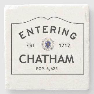 Entering Chatham Marble Coaster Stone Coaster