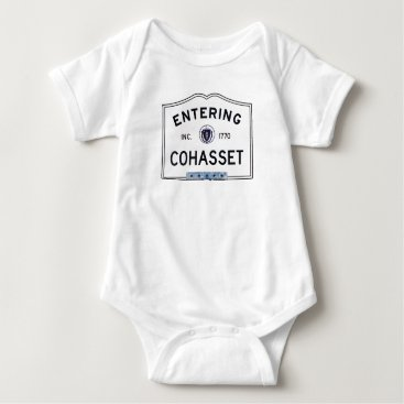 Entering Cohasset Baby Bodysuit