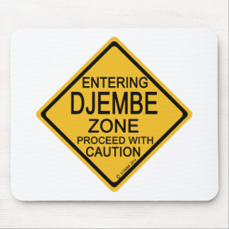 Entering Djembe Zone Mouse Pad