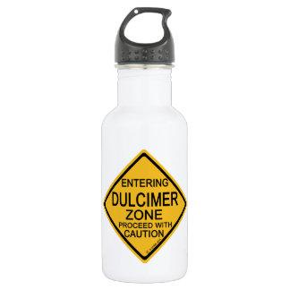 Entering Dulcimer Zone Stainless Steel Water Bottle