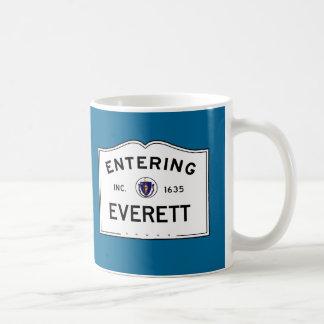 Entering Everett Coffee Mug