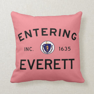 Entering Everett Throw Pillow