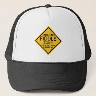 Entering Fiddle Zone Trucker Hat