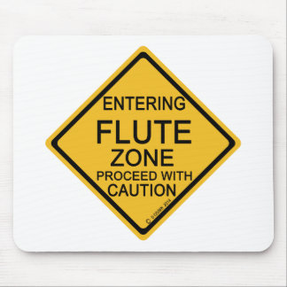Entering Flute Zone Mouse Pad