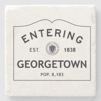 Entering Georgetown Marble Coaster Stone Coaster