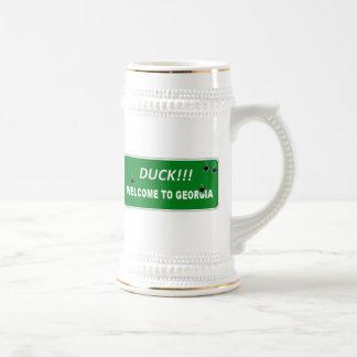 Entering Georgia - DUCK Mug