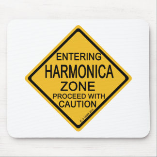 Entering Harmonica Zone Mouse Pad