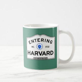 Entering Harvard Coffee Mug