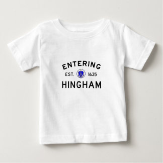 Entering Hingham Baby T-Shirt