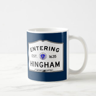 Entering Hingham Coffee Mug