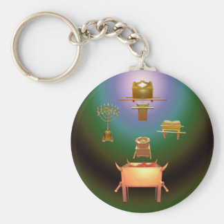 Entering His Presence Keychain