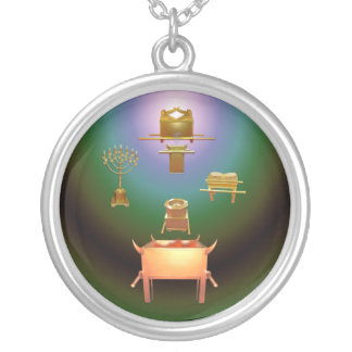 Entering His Presence Silver Plated Necklace